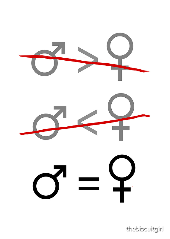 Gender Equality: It's Simple by thebiscuitgirl
