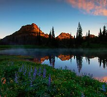 Yakima Peak Dawn by DawsonImages