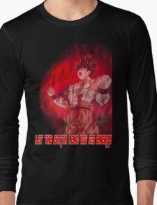 DBZ - Earth's Energy  Long Sleeve T-Shirt