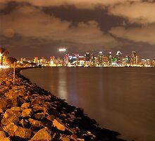 San Diego Harbor by Chris Sauerwald