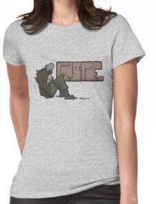 Half-Life 2 Caste Graffiti Womens Fitted T-Shirt