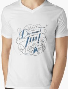 Dammit Jim! Mens V-Neck T-Shirt