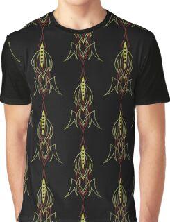 Pinstriping Graphic T-Shirt