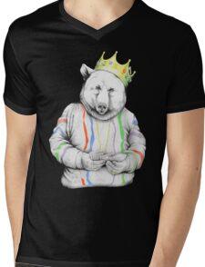 Bigi Bear Mens V-Neck T-Shirt