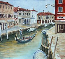 Venice 1 - Murano by Virginia  Coghill