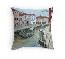 Venice 1 - Murano Throw Pillow