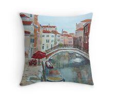 Venice 2 - Fondamenta Mori Throw Pillow