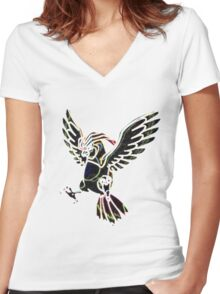 Pidgeotto Women's Fitted V-Neck T-Shirt