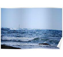 Newport Sailing Poster