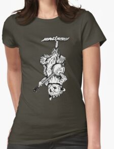 Possum Banjo Womens Fitted T-Shirt