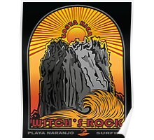 WITCH'S ROCK COSTA RICA Poster