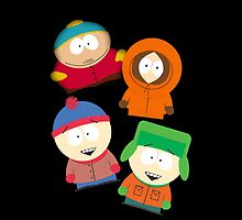 The one and only South Park Characters! by Mytholxgy