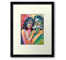 Party 2 Framed Print