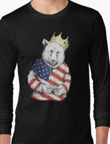 Bigi Bear America Long Sleeve T-Shirt