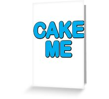 Cake Me Aoki! Greeting Card