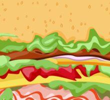 Big Burger Sticker