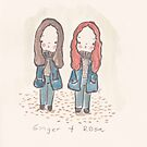 Ginger and Rosa by carla zamora