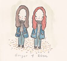 Ginger and Rosa by fluffymafi