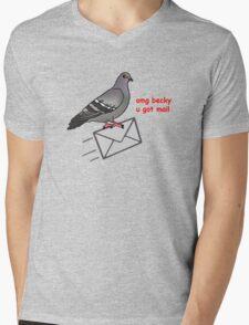 Omg becky u got mail Mens V-Neck T-Shirt