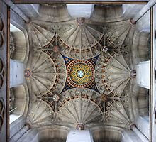 Canterbury Cathedral - The Ceiling Tower  by rsangsterkelly