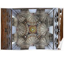 Canterbury Cathedral - The Ceiling Tower  Poster