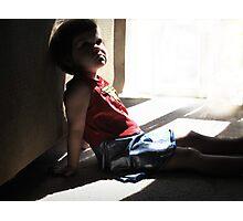 Little Superwoman Photographic Print