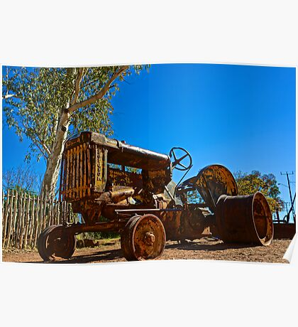 Hermannsburg Tractor Poster