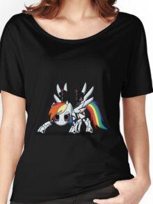 DASH-E Mk.2 - My Little Portal Women's Relaxed Fit T-Shirt
