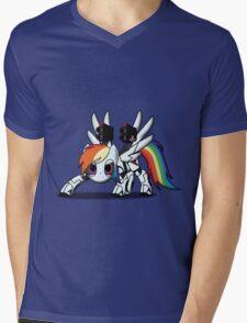 DASH-E Mk.2 - My Little Portal Mens V-Neck T-Shirt