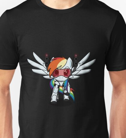 DASH-E Mk.4 - My Little Portal Unisex T-Shirt