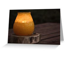 mosquito lamp Greeting Card