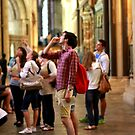 Canterbury Cathedral - Tourists  by rsangsterkelly