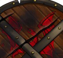 Dragon Hunter's Shield Sticker