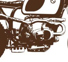 Cafe Racer Vintage Sticker