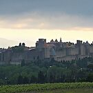 """"""" Dawn breaks over Carcassonne"""" by mrcoradour"""