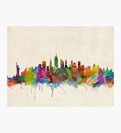 New York City Skyline Photographic Print