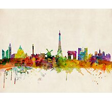 Paris Skyline Photographic Print