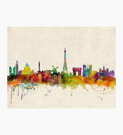 Paris Skyline Photographic Print