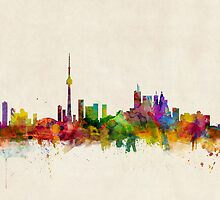 Toronto Skyline by ArtPrints