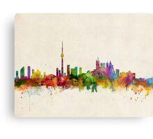 Toronto Skyline Metal Print