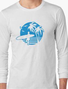 Surfers Beach Long Sleeve T-Shirt