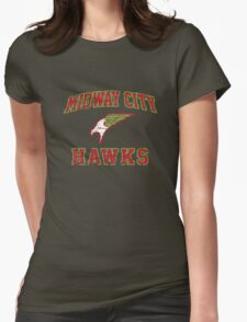 Hawkman - American Football Style Womens Fitted T-Shirt
