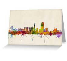 San Francisco City Skyline Greeting Card