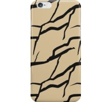 Rock formation pattern iPhone Case/Skin