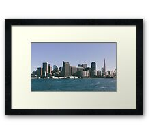 City and County of San Francisco Framed Print