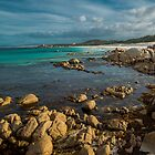 Bay of Fires-Tasmania by Richard Shakenovsky