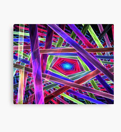 Behold Pentagon Matrix Canvas Print