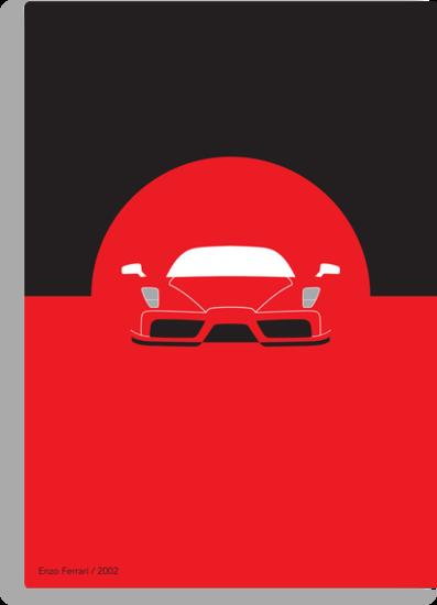 Ferrari Enzo Minimal by DistilledD