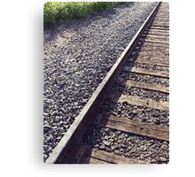 Railroad Track Canvas Print