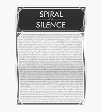 Spiral of Silence Poster